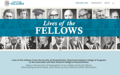 Lives of the Fellows