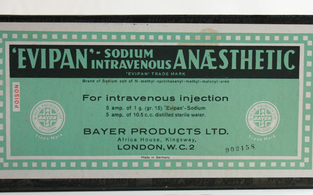 Evipan: The dark side of anaesthesia