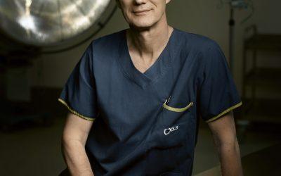 Portrait of Professor David A Scott, 2018