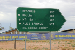second sign post