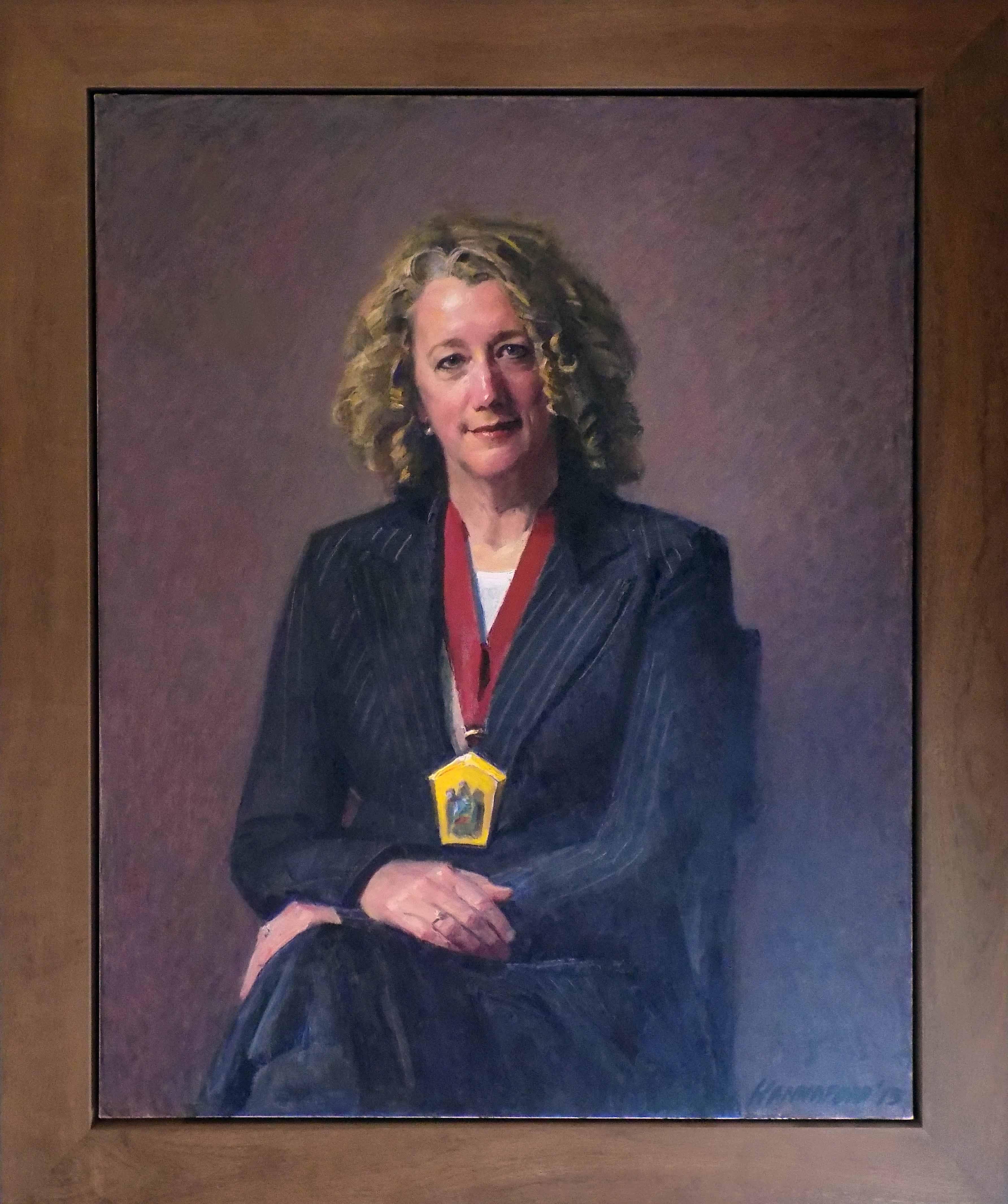 Portrait of Professor Kate Leslie – 2013